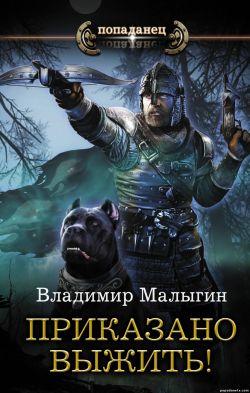Владимир Малыгин. Приказано выжить! обложка книги