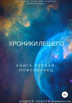 Андрей Лобурец. Хроники Лешего. Книга первая. Новобранец обложка книги
