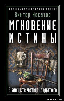 Виктор Носатов. Мгновение истины. В августе четырнадцатого обложка книги