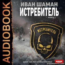 Иван Шаман. Истребитель. Книга 1. Аудиокнига обложка книги